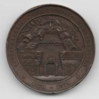 Netherlands: Affuitmakerij 1679-1879. Military Coin, Medal - Medailles & Militaire Decoraties