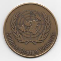 Netherlands: Midden-Oosten Veteraan. Military Coin, Medal - Medailles & Militaire Decoraties