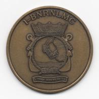 Netherlands: Korps Mariniers 1-BNRNLMC. Military Coin, Medal - Andere Landen