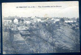 Cpa Du 95 Le Perchay Vue D' Ensemble Sur Les Groues    YN45 - Sonstige Gemeinden