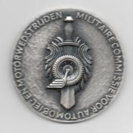 Netherlands: Militaire Commissie Voor Automobiel- En Motorwedstrijden. Military Coin, Medal - Medailles & Militaire Decoraties
