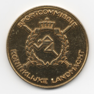 Netherlands: Sportcommissie Koninklijke Landmacht Military Coin, Medal - Medailles & Militaire Decoraties