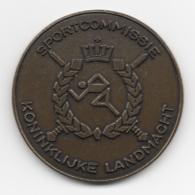 Netherlands: Sportcommissie Koninklijke Landmacht. Military Coin, Medal - Medailles & Militaire Decoraties