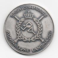 Netherlands: Sportcommissie Koninklijke Landmacht. Military Coin, Medal - Andere Landen