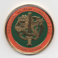 Netherlands: Regionaal Militair Commando Zuid. Military Coin, Medal - Medailles & Militaire Decoraties