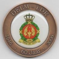 Netherlands: DELM - LDR 60 Jaar. Military Coin, Medal - Medailles & Militaire Decoraties
