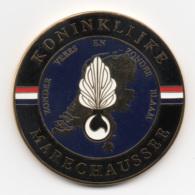 Netherlands: Koninklijke Marachaussee. Military Coin, Medal - Medailles & Militaire Decoraties