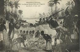 CPA Des Missions D'Afrique - Les Jeunes Martyrs Noirs De L'Ouganda Béatifiés Le 18 Juin 1920. - Oeganda