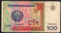 UZBEKISTAN P81 500 SOM 1999   VF    NO P.h. - Ouzbékistan