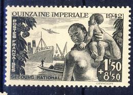 +G2120. France 1942. Quinzaine Imperiale. Yvert 543. Michel 552. MNH(**) - Ungebraucht