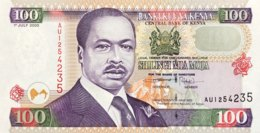Kenya 100 Shillings, P-37e (1.7.2000) - UNC - Kenia
