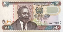 Kenya 50 Shillings, P-41a (1.4.2003) - UNC - Kenia