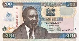 Kenya 200 Shillings, P-46 (12.12.2003) - UNC - 40 Years Of Indipendence - Kenia