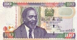Kenya 100 Shillings, P-48 (1.6.2005) - UNC - Kenia