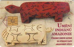 Cartes -  TCHEQUIE - INDIEN AMAZONIE - Télécartes