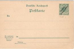Afrique Du Sud Ouest Allemand.DSWA.1899.Colonie Allemande.Entier Postal.Michel P11I.Neuf.19A6 - Kolonie: Deutsch-Südwestafrika