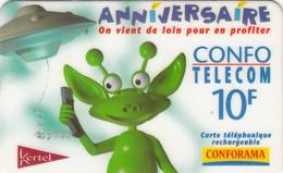 Cartes -  KERTEL - ANNIVERSAIRE CONFORAMA  - MARTIEN - Télécartes