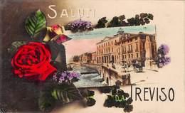 Italia  -   Saluti Da TREVISO,  Veduta Generale -  Foto Cartolina. - Treviso