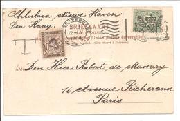 S'Gravenhage.Columbia. Kleine Leeuw 31.3.06 V208 (Maandkarakter !!) >PARIS TIMBRE TAXE - Poststempels/ Marcofilie
