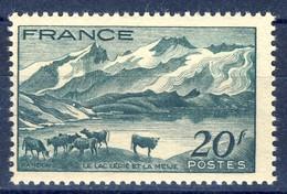 +France 1943. Le Lac Lerie. Paysage. Pair. Yvert 582. Michel 594. MNH(**) - France