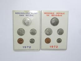"""M/MS3 BELGIQUE Série """"Fleur De Coin"""" FDC 1972 (FR + FL) - 1951-1993: Baudouin I"""