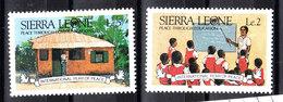 Sierra Leone - 1986. Scuola E Maestro. School And Teacher. MNH - Altri