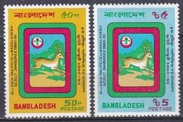 Bangladesch Bangladesh 1981 Organisationen Pfadfinder Scouts Jugend Youth Emblem, Mi. 148-9 ** - Bangladesch