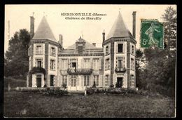 51 HERMONVILLE (Marne) - Château De Marzilly - Francia