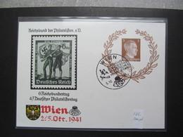 DR Nr. P 306, 1941, Postkarte, EF, Sonderstempel Wien  *DEL2135* - Deutschland