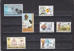 Guinea Ecuatorial Año 1982 Completo - Equatorial Guinea
