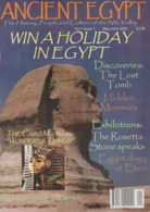 Egypt: Ancient Egypt, 2000/2001, Vol. 1, Issue 1,2,3,4,5,6 - Geschiedenis