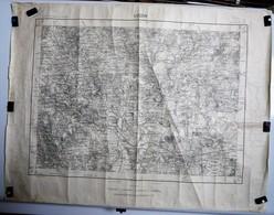 Carte Etat Major Luçon (Vendée) 1/50000ème Feuille XIII - 27  Institut Géographique National (IGN) 1955 - Cartes Topographiques