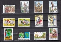Guinea Ecuatorial Año 1986 Completo - Equatorial Guinea