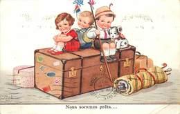 WILLS John (illustrateur) - Nous Sommes Prêts,enfants Partant En Voyage. - Wills, John