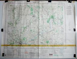 2 Cartes Etat Major Luçon (Vendée) 1/25000 ème Feuilles 13 - 27 3 - 4 & 7 - 8  Institut Géographique National (IGN) 1975 - Cartes Topographiques