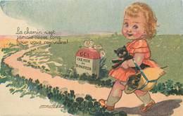 MAUZAN  LA (illustrateur) - Le Chemin N'est Jamais Assez Long Pour Vous Rejoindre, Petit Chat Noir. - Mauzan, L.A.