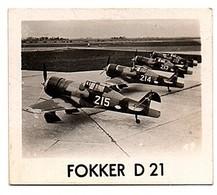Airplaines No # 47 Fokker D21 Pepermunt Van Slooten NV Leeuwarden, Serie 2 Luchtvaart Holland (CF-30) - Commerciële Luchtvaart