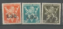 OCB 724DD  ==> 724FF** Postfris Zonder Scharnier - Belgique