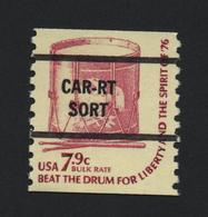 USA 1241 SCOTT 1615 CAR-RT SORT - Etats-Unis