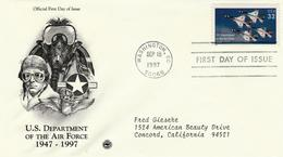 USA - 1997 - FDC Aero Stamp 32 C  - - Ersttagsbelege (FDC)
