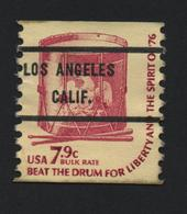 USA 1244 SCOTT 1615 LOS ANGELES CALIF - Stati Uniti