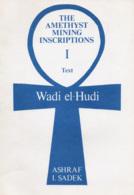 Egypt: The Amethyst Mining Inscriptions Of Wadi El-Hudi - Books, Magazines, Comics