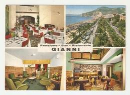 CT--02721-- PENSIONE-BAR-RISTORANTE- GIANNI -4 VEDUTINE - MACCHINA DA CAFFE' - FINALE LIGURE-NON VIAGGIATA - Alberghi & Ristoranti