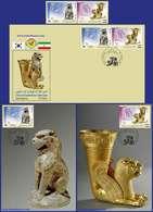 Iran Korea Joint Issue Stamp, FDC, Maximum Card, 2018 - Emissioni Congiunte