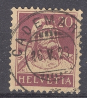HELVETIA 1921-34: Mi 162 / YT 165, O - FREE SHIPPING ABOVE 10 EURO - Used Stamps