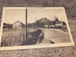 CPA Parensol. Cantal. 15 - France