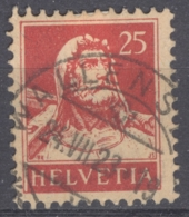 HELVETIA 1921-34: Mi 168 / YT 163A, O - FREE SHIPPING ABOVE 10 EURO - Used Stamps