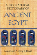 Egypt: A Biographical Dictionary Of Ancient Egypt - Geschiedenis
