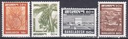 Bangladesch Bangladesh 1980 Pflanzen Plants Obst Fruits Ananas Bananen Religion Bauwerke Moschee Mosque, Mi. 144-7 ** - Bangladesch