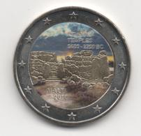 Malta, 2016, 2 Euro, Ggantija Temples, Color, UNC - Malta